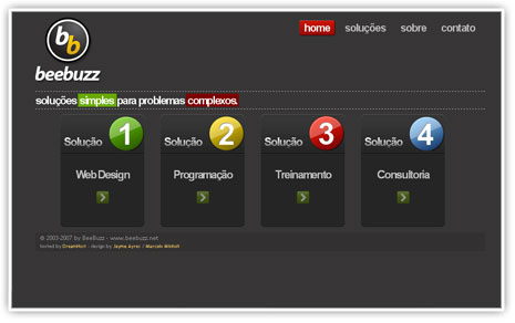BeeBuzz - Soluções para Internet